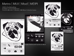 Metro MUI Mod MDPI LS for MiLocker or MIUI by melissapugs