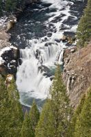 Lower Mesa Falls by melly4260