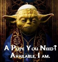 Yoda pope by yellow-submarine7