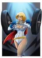 Power Girl Colors by MachSabre