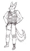 Random Canid merc guy by Blackhawk2955