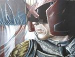 Judge Dredd Colored Up Print by corysmithart