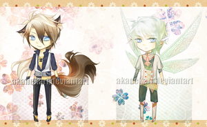 Adoptables Auction 01: snazzy appendages [CLOSED] by akanekari