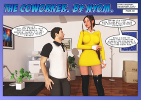 The Coworker Page 6. by nyom87