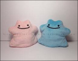 Ditto Beanie Plush by Serenity-Sama