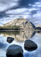 Tenaya Lake HDR by invisiblelife
