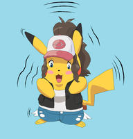 White into Pikachu by Gemble