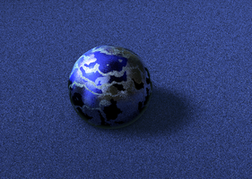 Mah first C4D ball by Simony17y
