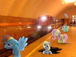 The train arrived, what a joy it .. by Atlas-66