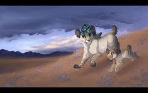 A Frolic Through The Field: Collab by Chipo-H0P3