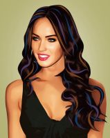Megan Fox by LilyMagpie