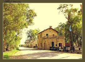 Old station building by ShlomitMessica