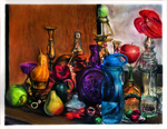 A Complex of Colorful Objects by AzureParagon