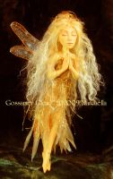 Golden Light Faerie - Full by GossamerGlen