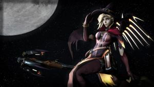 Overwatch - Witch Mercy [SFM] by ninidan