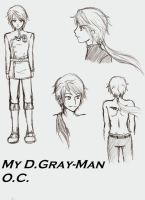 D.Gray-Man OC by flying-soap