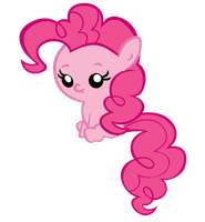 Baby Pinkie Pie Sitting by jrk08004