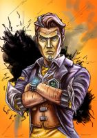 Handsome Jack by AIM-art
