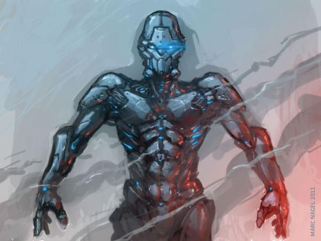 robo sketch by marcnail