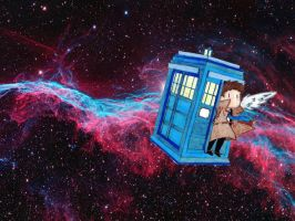 The Angel Has the Phonebox by D-wing1