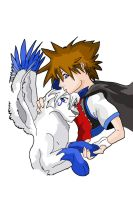 Sora and Ifus by windancer53
