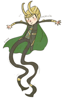 long legged loki by lortay