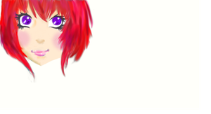 Head- trying out muro speed paint by Aninsey