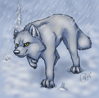 Arctic Foxeh by VexedLupine