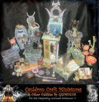 Cauldron Craft Miniatures 1 by grimdeva