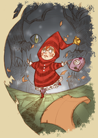 .LITTLE RED RIDING HOOD. by vincentbatignole