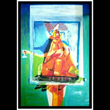 After George Condo  8 the wine drinker (variations by cvisuali