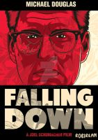Falling Down Poster 1 by roberlan