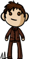 Doctor Who - Tenth Doctor by shrimp-pops