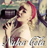 Nuka Cola pin up by OpiumScout