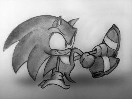 Sonic Kicks by Doodliez