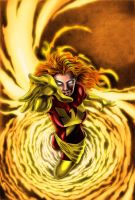 The Dark Phoenix Rises by wordmongerer