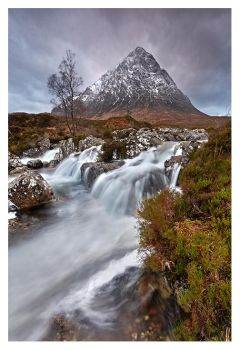 Buchaille Etive Mor and the River Coupall by SebastianKraus