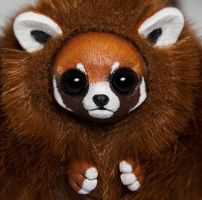 Red Panda Furry Creature by RamalamaCreatures