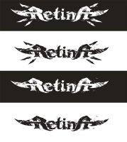 Retina deathcore band's logo by skigfx
