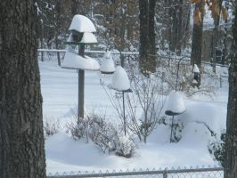 Snow gnome houses by Perceptor