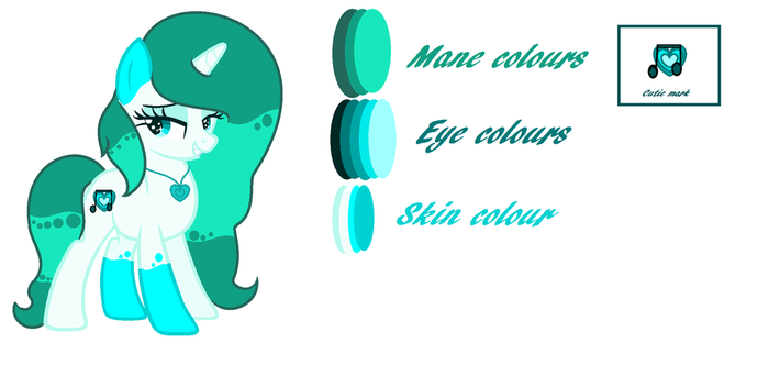 Mlp Custom requested by peparmint-splash (oc) Ref by SweetnessRocks