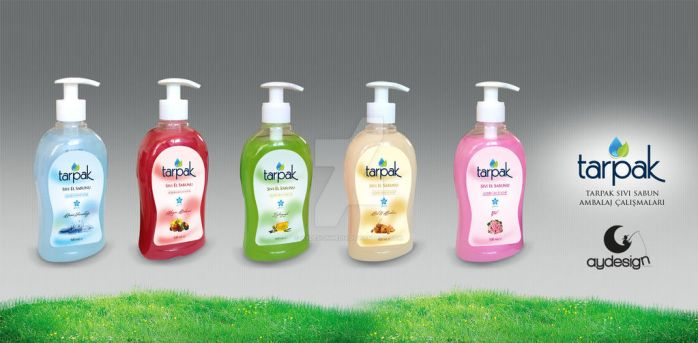 Tarpaz Liquid Hand Wash Soap Label Design Seria A by aydesignmedia