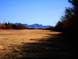 Dry Rio Grande by SharPhotography