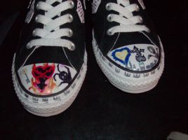 Kingdom Hearts Converse::.. by KanameChanOtaku