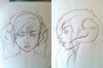 Aries front and side view by InvaderTarren13