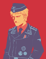 APH: Prussia for Color Scheme Meme by PunPuniChu