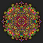 Line Art Mandala by Dridon