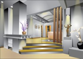 Interior illustrating by tengwan