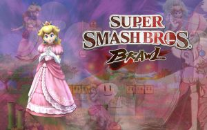Brawlpaper: Peach by MC2009