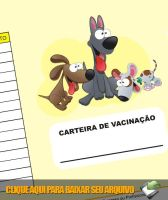 Carteira de vacinacao Pet Shop by graficaebrindes